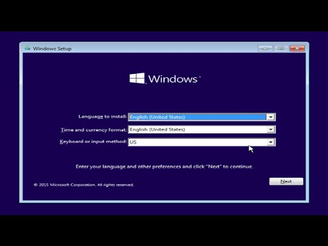 Windows 10 Format And Clean Install From CD/DVD Tutorial - YouTube