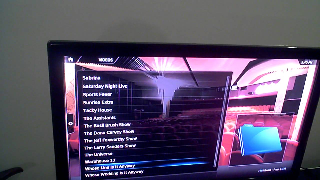 Apple TV2 Iview ABC24 and 7mate test