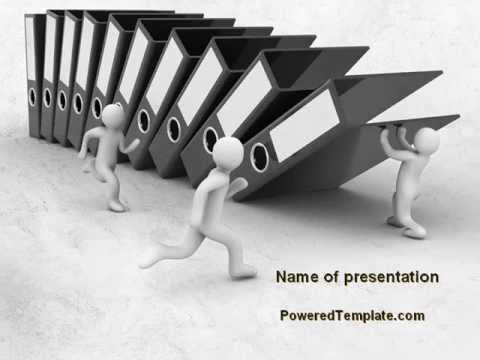 Record Keeping Management Powerpoint Template By Poweredtemplate