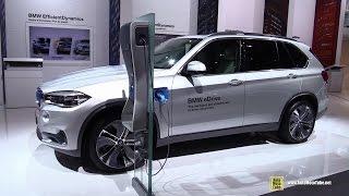 2015 BMW X5 eDrive - Exterior and Interior Walkaround - 2014 Paris Auto Show