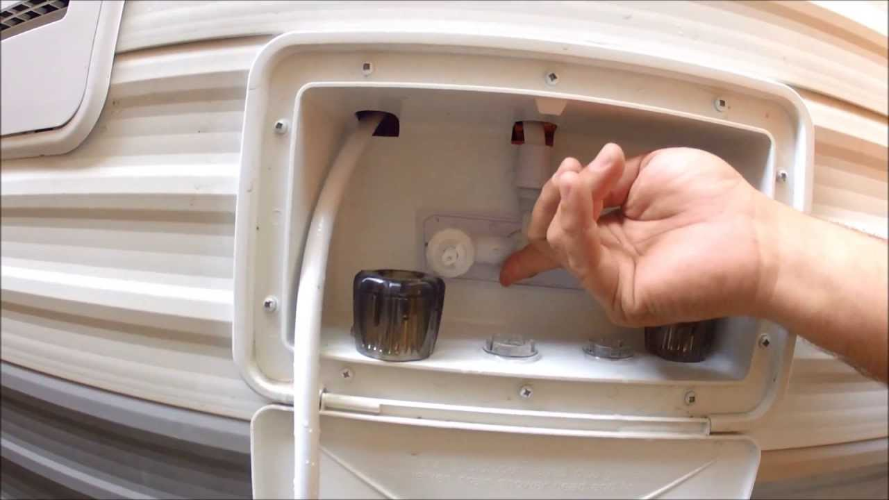 How To Replace A Leaky Faucet On Your Rv Camper Youtube