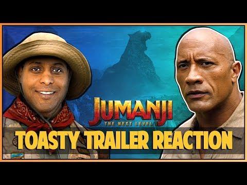 JUMANJI THE NEXT LEVEL TRAILER REACTION - Double Toasted