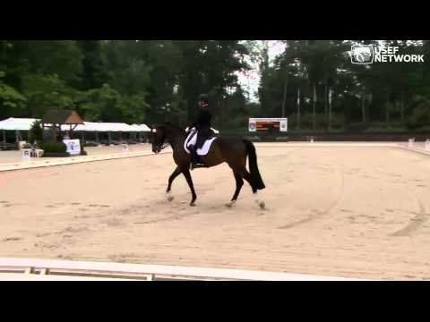 Steffen Peters & Rosamunde win Prix St. George at 2014 Festival of Champions