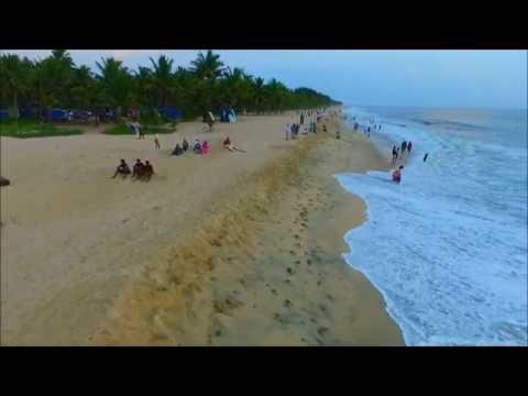 Marari beach Aerial Visuals