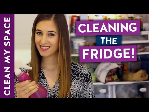 How to Clean A Fridge! (Clean With Me)