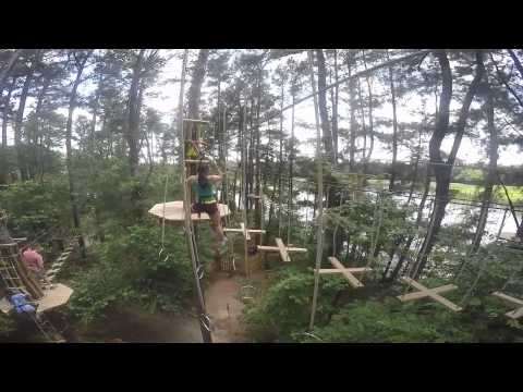 GoApe Zip Line Course at Shelby Farms