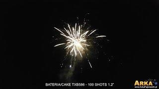 Bateria/Cake TXB586 - 100 Shots Triplex