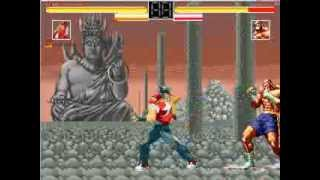 "Legendary Terry Bogard Vs Sagat: ""A Hungry Wolf VS A Savage Tiger"" AI BATTLE"