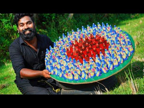 200 Flower Pot Testing | 200 മേശപ്പൂക്കൾ ഒരുമിച്ചു കത്തിച്ചപ്പോൾ | M4 TECH |