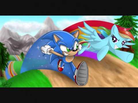 Sonic X Rainbow Dash