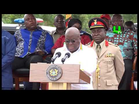 Free SHS: We May Falter But We Shall Not Fall - Prez. Akufo Addo Assures