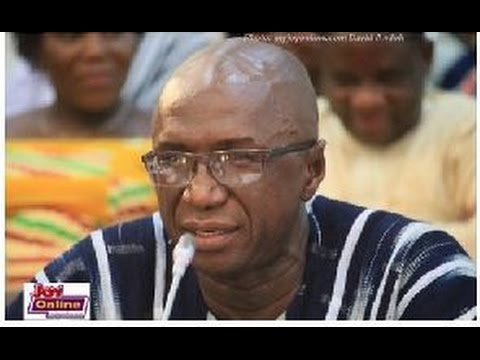 AMBROSE DERY AT THE APPOINTMENT COMMITTEE AS INTERIOR MINISTER-DESIGNATE