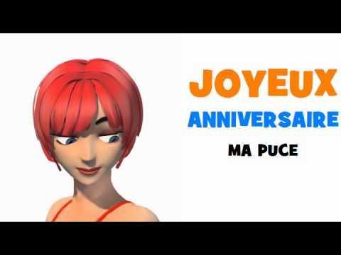 Joyeux Anniversaire Ma Puce Youtube