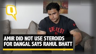 Aamir's Dangal Body Can Be Achieved Naturally Says Rahul Bhatt   Quint Fit