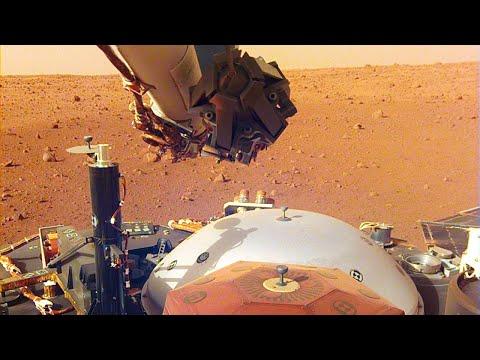 Что обнаружил зонд NASA Insight когда приземлился на Марс