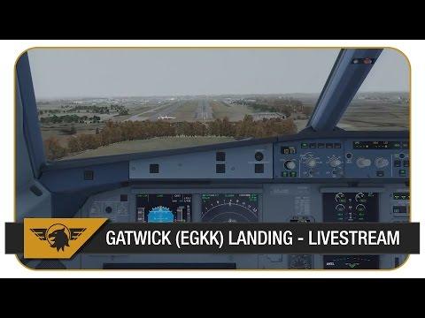 [Prepar3D v3] Gatwick Arrival | VATSIM Full ATC | Aerosoft A320 | Vueling | Livestream Highlight
