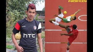 Interview With Indian Sepak Takraw Spiker Akash Yumnam|historic Achievements Of India's Sepak Takraw