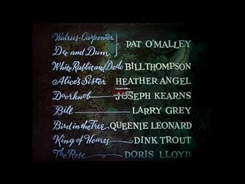 Alice in Wonderland 1951 Credits Song Korean