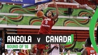Angola v Canada - Round of 16 Full Game - 2014 FIBA U17 World Championship