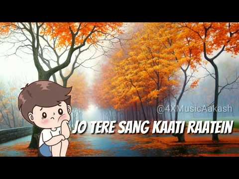 💞Jo tere sang kaati 💏 raatein | Romantic : Emotional :Sad Whatsapp status video 💝