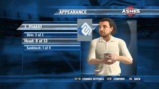 Ashes cricket 2009 how to make your own team