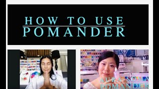 How to Use Pomander  From Aura-Soma® Singapore & Bali with Love &Light