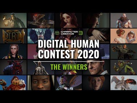 2020 Digital Human Contest | Character Creator | Winner Announcement