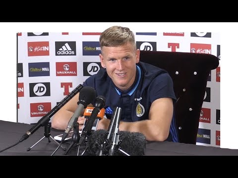 Matt Ritchie Full Pre-Match Press Conference - Lithuania v Scotland - World Cup Qualifying