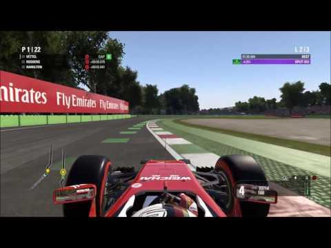 F1 2016 - Autodromo Nazionale Monza | Italian Grand Prix Gameplay (PC HD) [1080p60FPS]