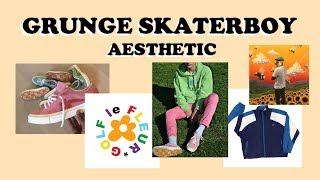 The Grunge Skaterboy Aesthetic // Find your Aesthetic #3