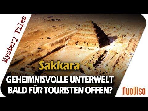 Die Stufenpyramide von Sakkara und ihre Unterwelt - Mystery Files #18