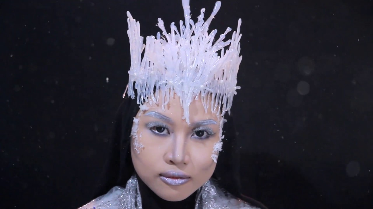 ICE QUEEN MAKEUP LOOK | NYX Face Awards Indonesia 2017 | Ayu Sekar - YouTube