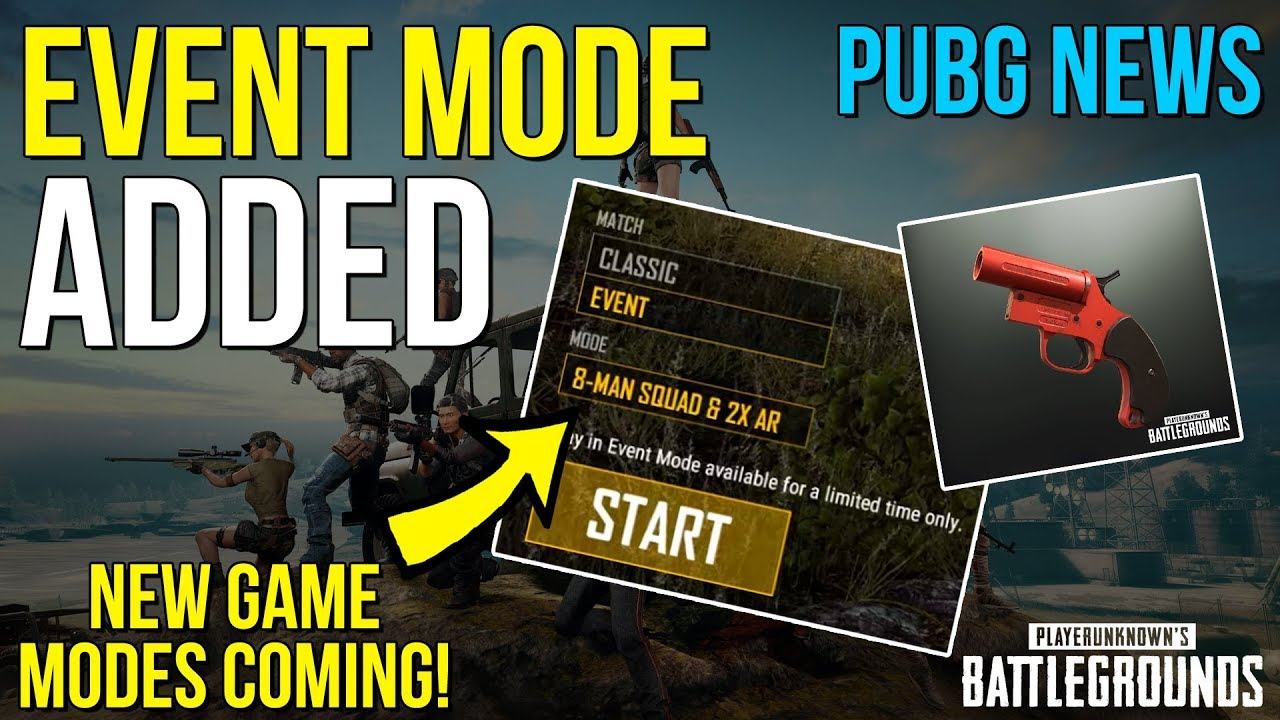 Pubg Announces Flare Gun For Event Mode