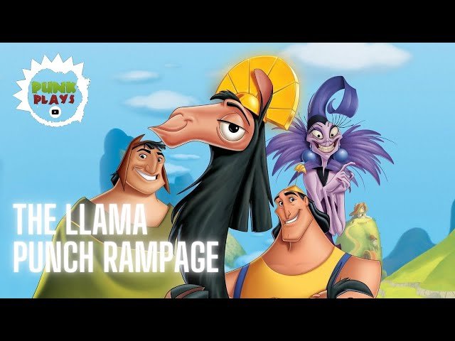The Llama Punch Rampage | Emporer's New Groove | PSX 2019