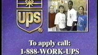 UPS United Parcel Service Commercials 1998