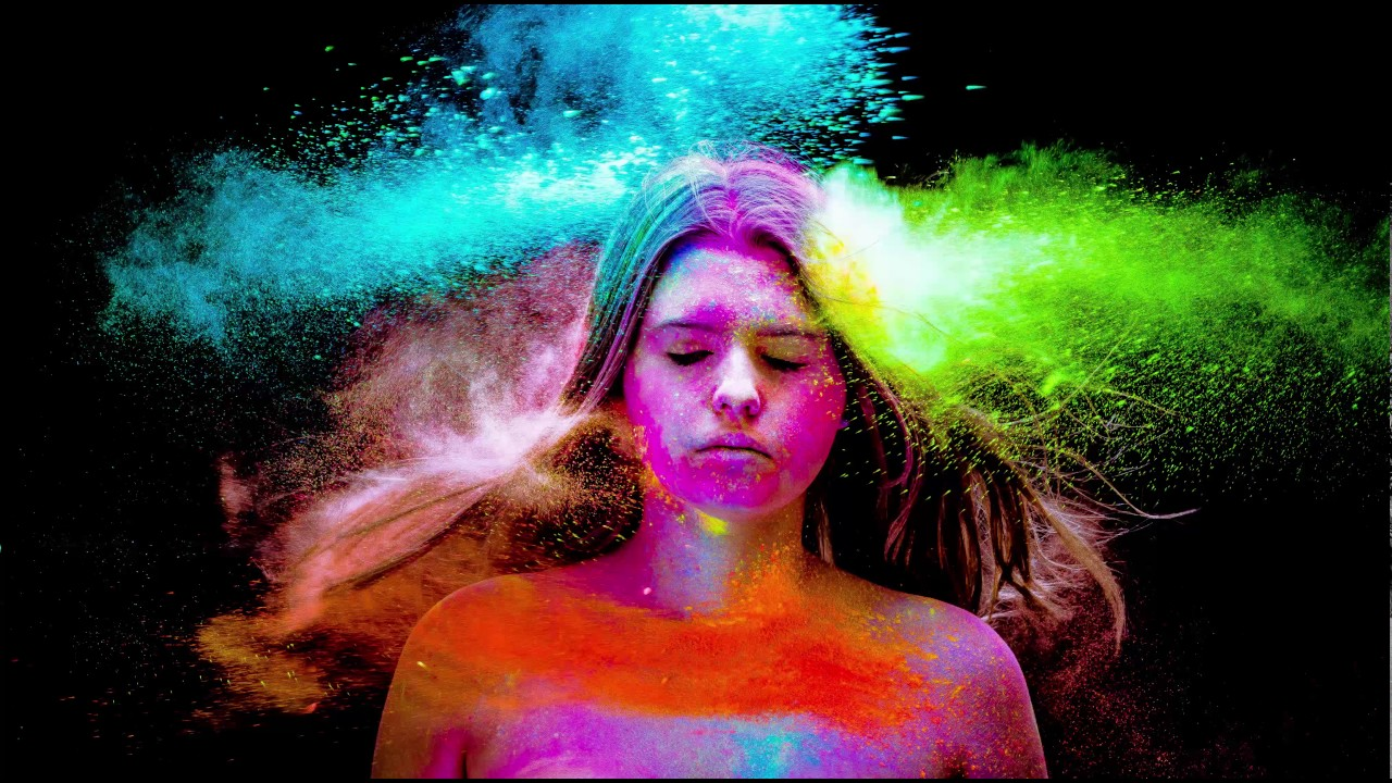 Powder paint shoot by jessica green youtube for Paint photo shoot ideas