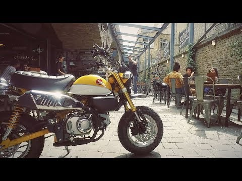 Launch Ride Honda Monkey 125