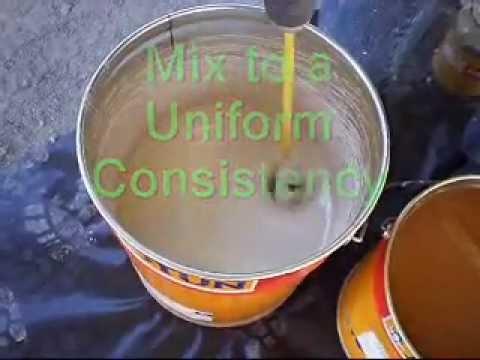 Mixing Epoxy Paint PT(1) - Jotacote 605
