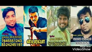Chennai gana- THALAPATHY song