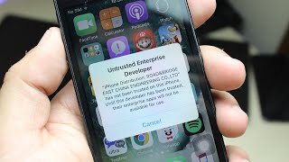 How To Stop Getting Apps Revoked! (NO JAILBREAK)(Untrusted Developer FIX!) iOS 9/10/11!