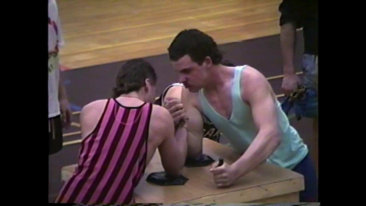 NCCS Arm Wrestling Finals  3-15-90