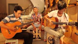 Liên khúc Guitar Canon -Proud Of You- Anh