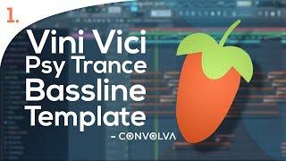 Vini Vici Style Bassline Template - FL  Studio Playthrough [Free FLP + STEMs]
