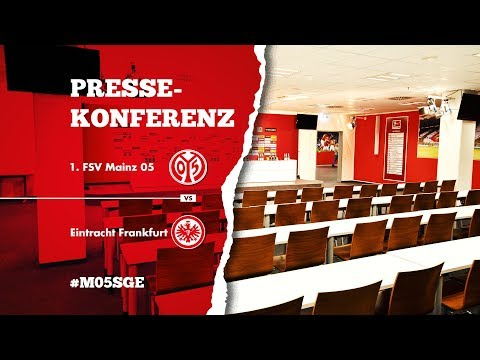 Pressekonferenz vor dem Heimspiel gegen Eintracht Frankfurt | #M05SGE | 1. FSV Mainz 05