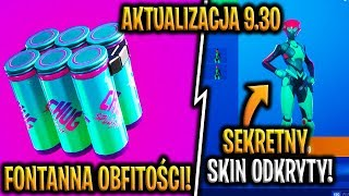 UPDATE 9.30!! FOUNTAIN OF ABUNDANCE!! SECRET SKIN OUTDOOR!! -Fortnite Battle Royale