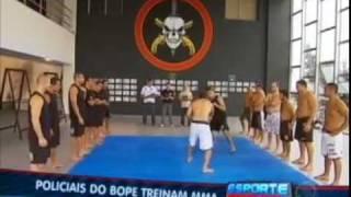 Bope treina para lutar MMA em Shooto Brasil 25º -  parte 2/3