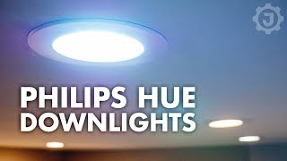Philips Hue White Ambiance Downlight | Install and Review