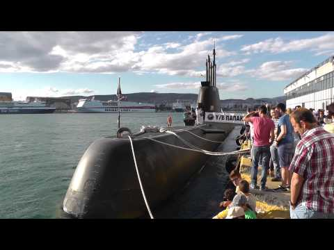 Hellenic Navy Submarine Type 214 Papanikolis