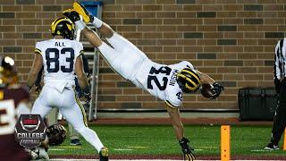 Michigan Wolverines vs. Minnesota Golden Gophers | 2020 College Football Highlights
