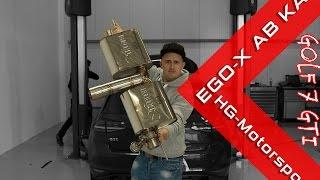 Golf 7 GTI Ego X Exhaust / SimonMotorSport / Folge 247